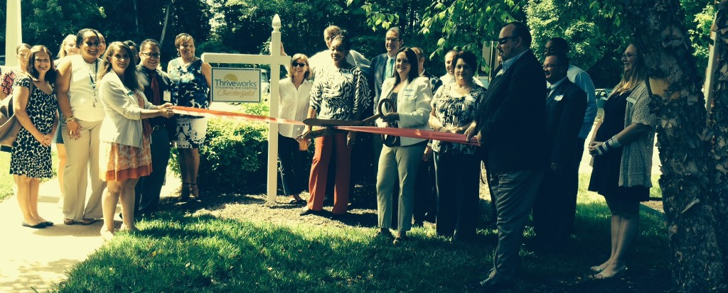 chesterfield ribbon cutting
