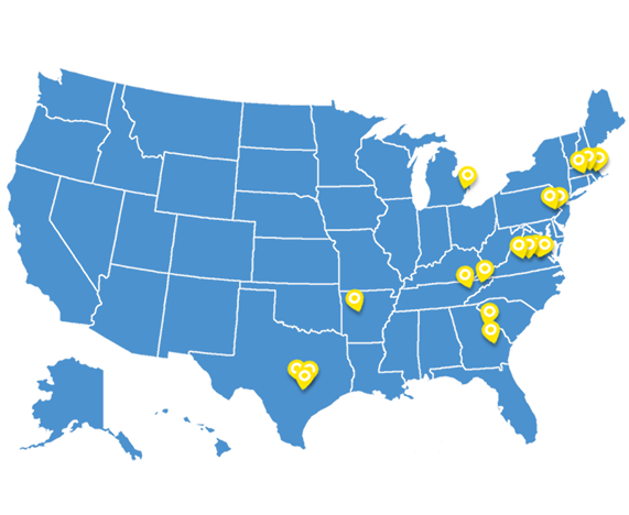 thriveworks-locations-map-pins