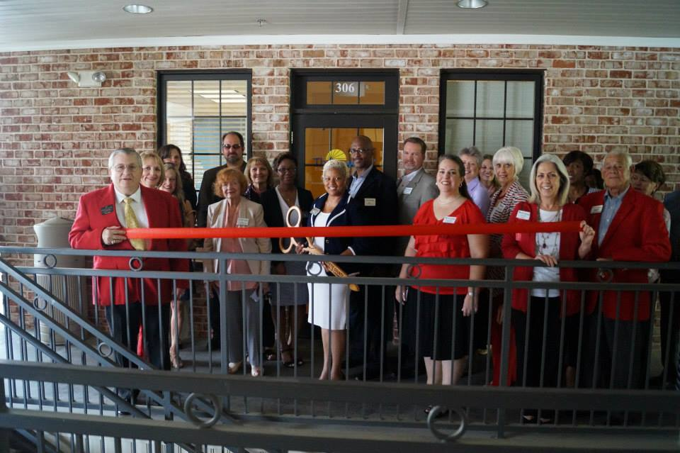 stacy ribbon cutting