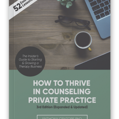 How to Thrive in Private Practice Cover
