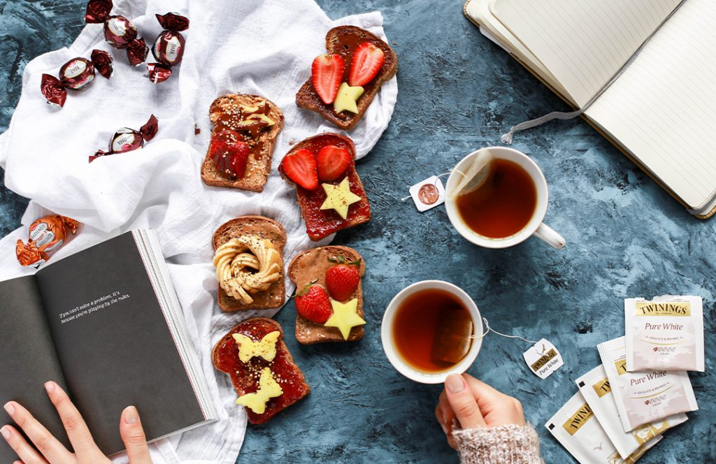 Food, Tea, and Books