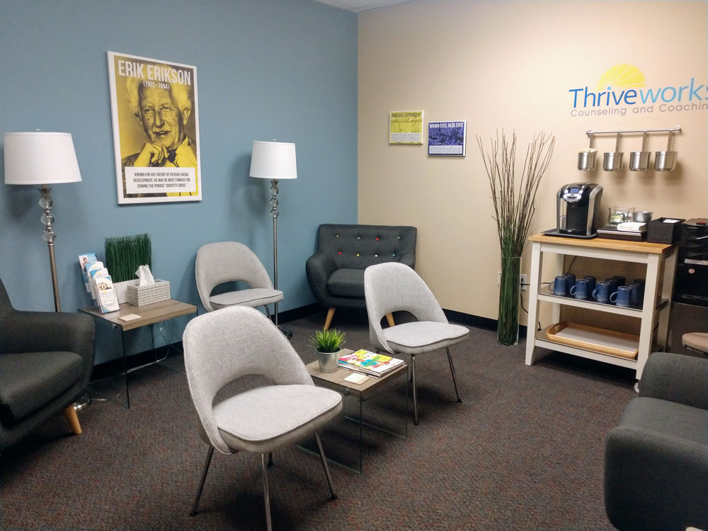 Thriveworks South Charlotte Lobby