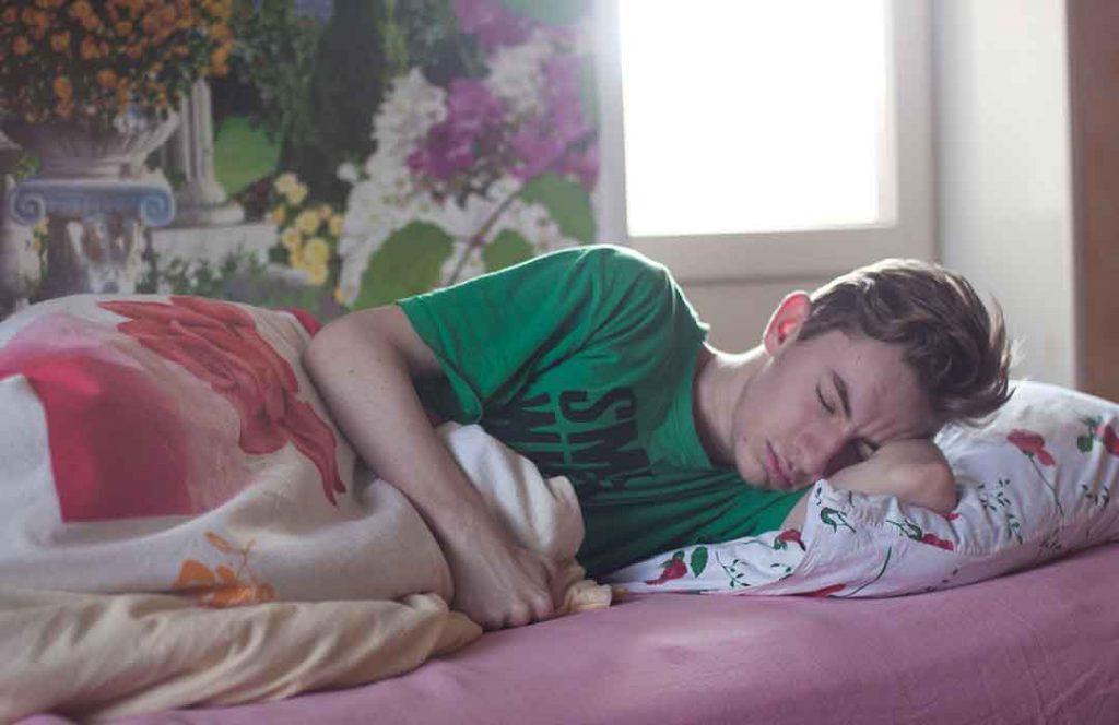 Teen Sleeping