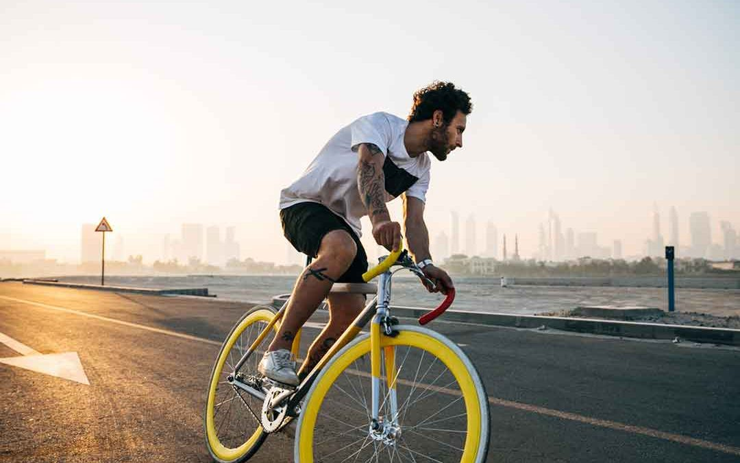 Improve your mental health and emotional wellbeing through cycling