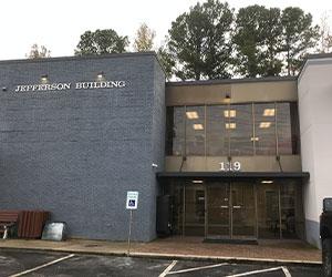 Cary, NC Main Entrance Building